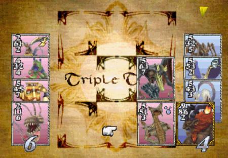 Triple Triad Final Fantasy VIII screenshot