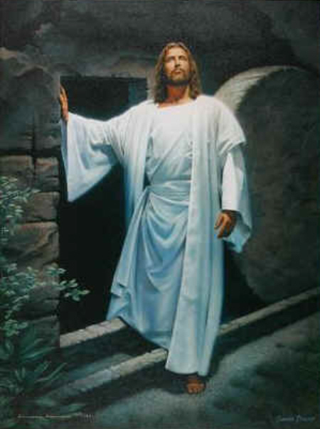 Jesus Victorious From the Tomb!