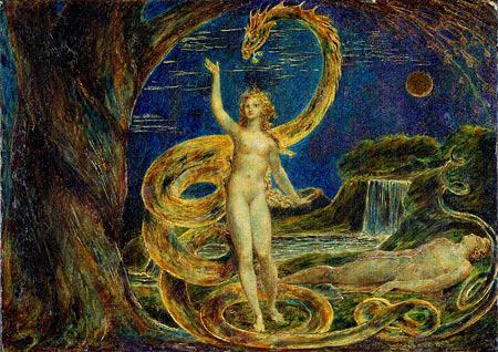 The Serpent Satan Tempts Eve