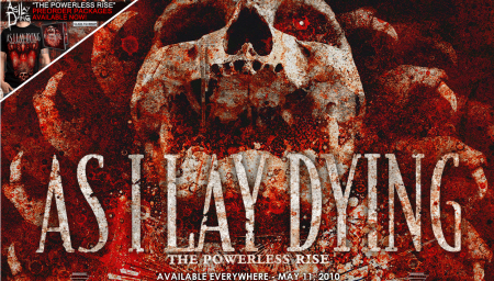 The Powerless Rise As I Lay Dying new album May 11, 2010
